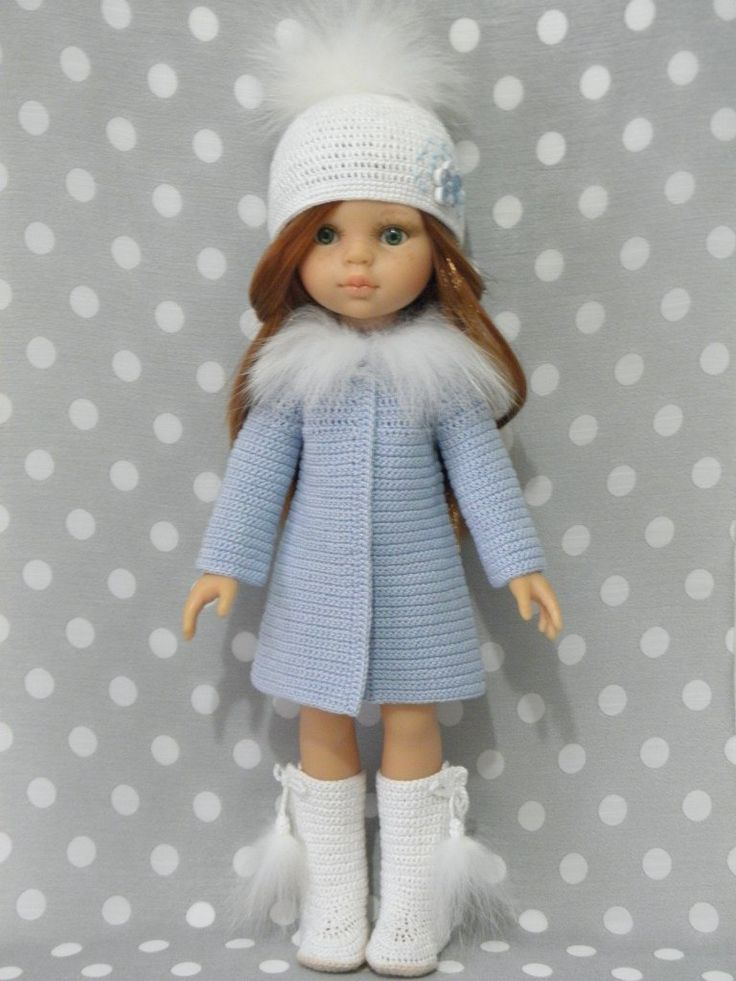Вяжем для кукол Паолочек   307 фотографий