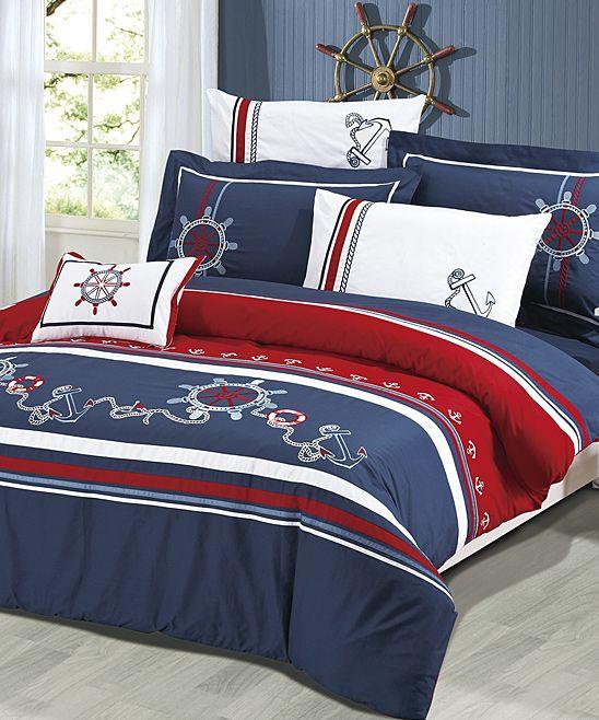 Anchors Away Bedding Set