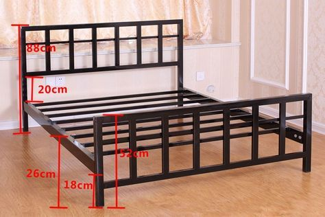 New metal furniture bed frames ideas