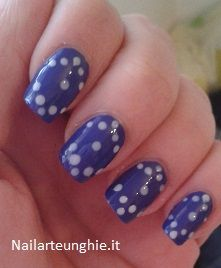 Nail art semplice per unghie corte