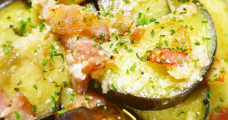 オリーブオイルにおろしにんにくを入れた段階で、もうイタリアン! パルメザンチーズも加わって納得の味★