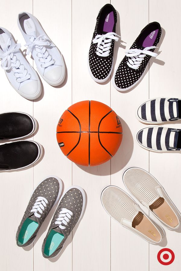 Get in the spring-style game with a cute pair of sneakers—slip-ons, classic white, stripes or polka-dots, a good pair of shoes will elevate any outfit.