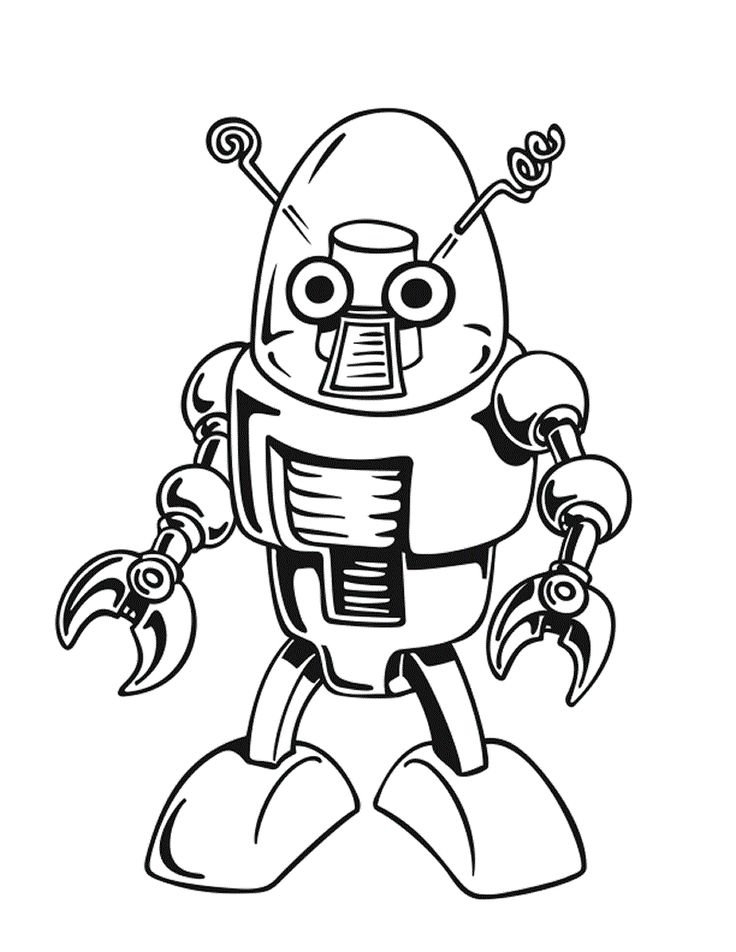 74 best Robotteja images on Pinterest   Tema de robot, Escuela y ...