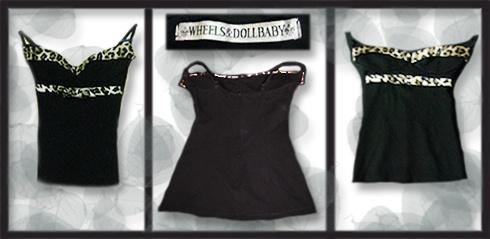 Wheels & Doll Baby, Leopard Embellished Singlet   Size: 6   Price: $10