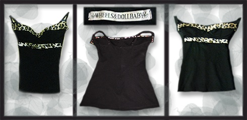 Wheels & Doll Baby, Leopard Embellished Singlet   Size: 6   Price: $10