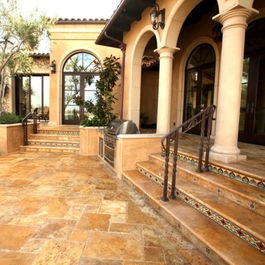 27 best images about mediterranean home ideas on pinterest for Mediterranean flooring ideas