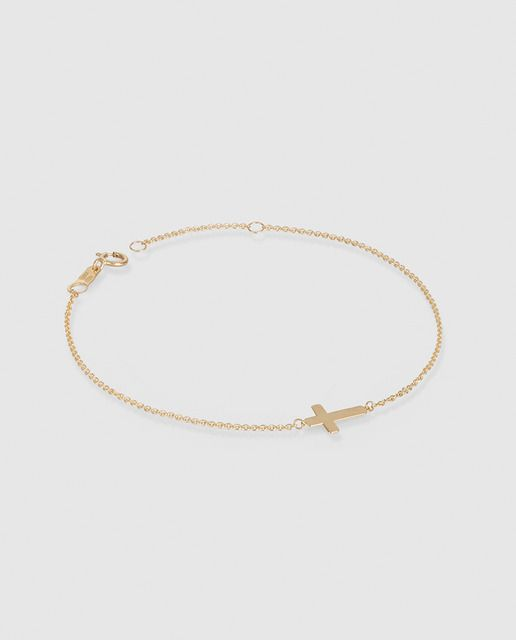 11bf75157043 pulsera de oro mujerTendencias moda INVIERNO 2019. zara, mango, h&m ...
