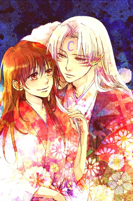 Older Rin and Sesshomaru