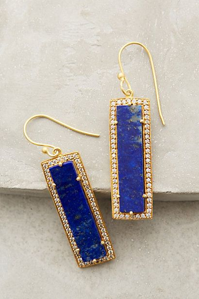 Shimmered Lazuli Drops - anthropologie.com #anthroregistry