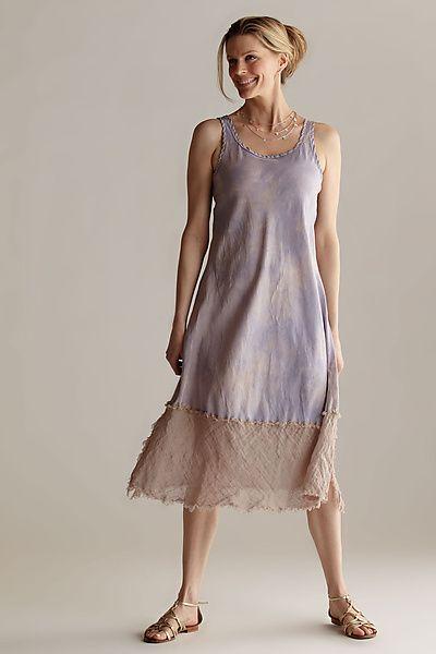 Silk & Linen Slip Dress: Robin Kaplan: Silk & Linen Dress - Artful Home...so perfect for summer...