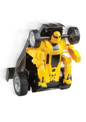 The Black Series  Remote Controlled Transforming Robot Car Yellow - Online Only