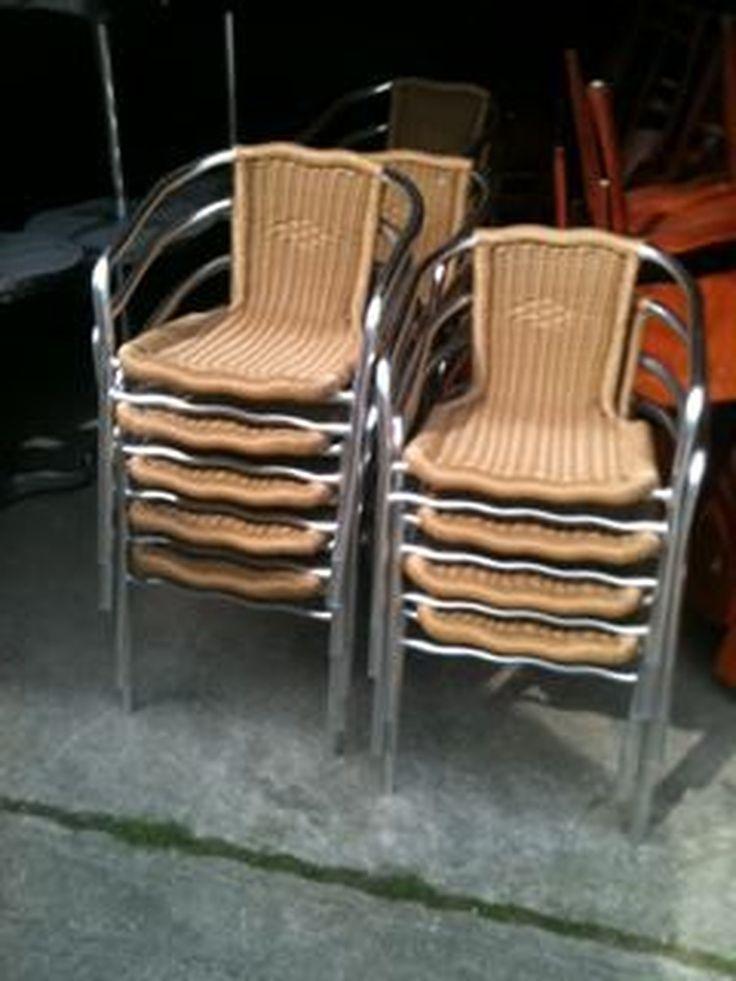 Job Lot Wooden Folding Chairs