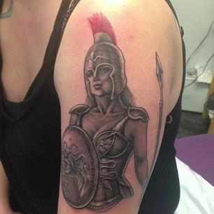 Athena #Ink #tattoo