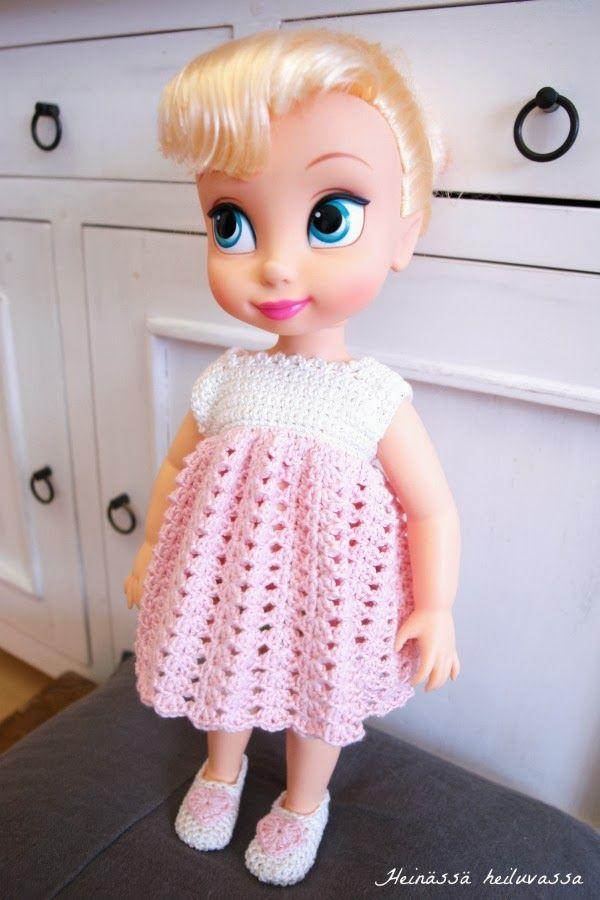 Heinässä heiluvassa: Disney Animator -nuken uudet vaatteet