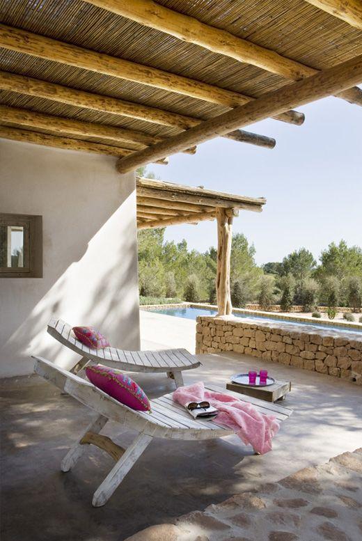 Les 489 meilleures images propos de terrasses sur - Deco terrasse la terrasse de style iles grecques et mediterraneen ...