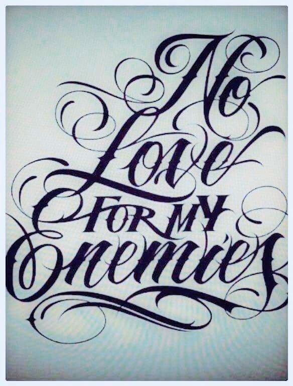 Pin By Janet C On Rtl Tattoo Script Fonts Chicano Lettering