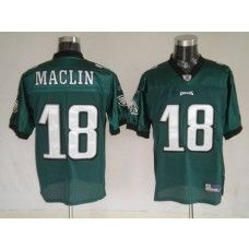 Eagles Jeremy Maclin #18 Stitched Green NFL Jersey