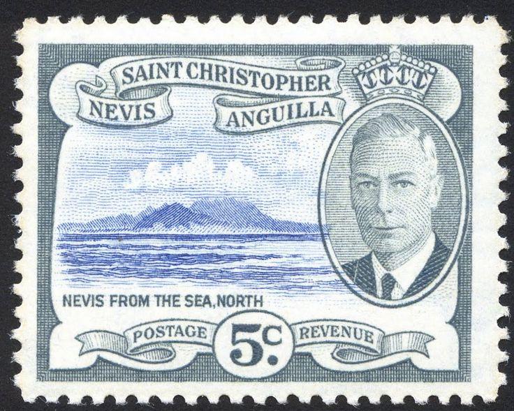 King George VI-St. Christopher, Nevis & Anguilla 1952