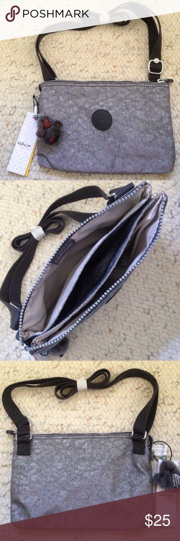 NEW Kipling bag New. Never used. Has 3 roomy, wide pockets. Kipling Bags Crossbody Bags