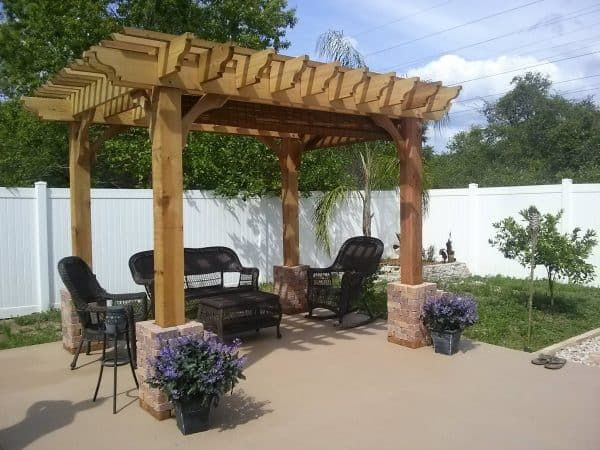 10x20 Pergola Kit Buy Our Big Kahuna 10x20 Wood Pergola Kit Online At Pergola Depot Outdoor Pergola Wood Pergola Kits Wood Pergola