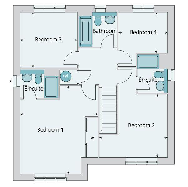 9 best Bovis homes The Durham Courteney grange Exminster Devon – Bovis Homes Floor Plans