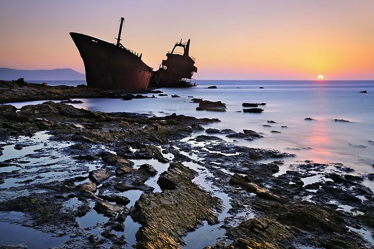 TRAVEL'IN GREECE | Shipwreck in Karpathos, #South_Aegean, #Greece, #travelingreece