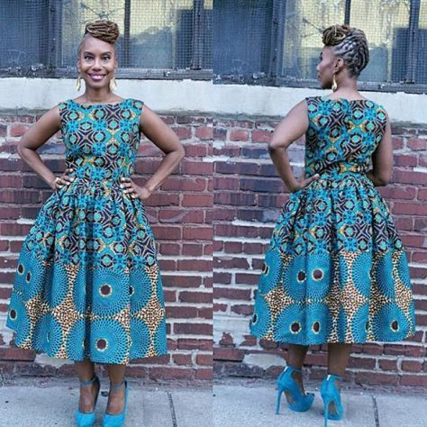 Creative Ankara Gown Style - DeZango Fashion Zone