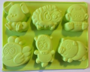 Forma din silicon animale - tava silicon animale, forma silicon modele, animale de silicon