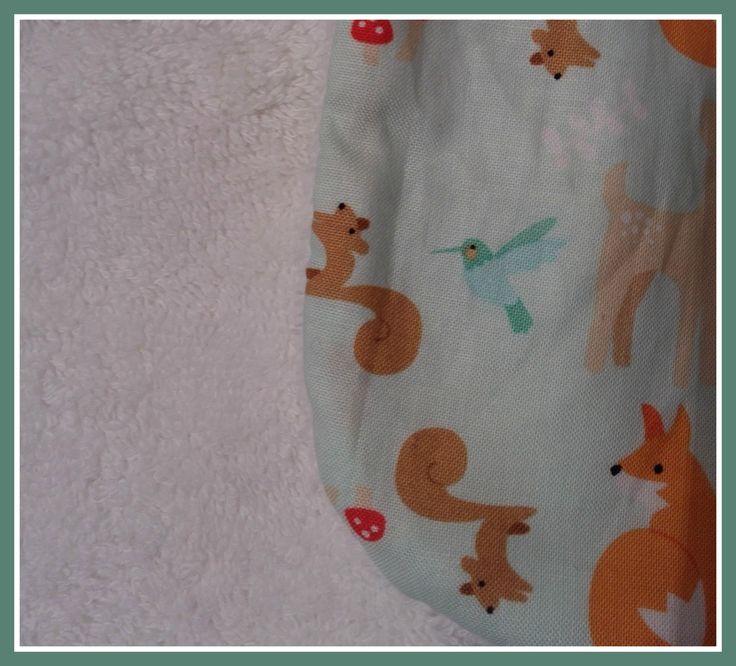 Bavoir reversible renard : Mode Bébé par chaudrondepandora