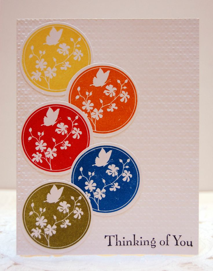 stampin up serene silhouettes | super quick cas card using the new stampin up set serene silhouettes ...