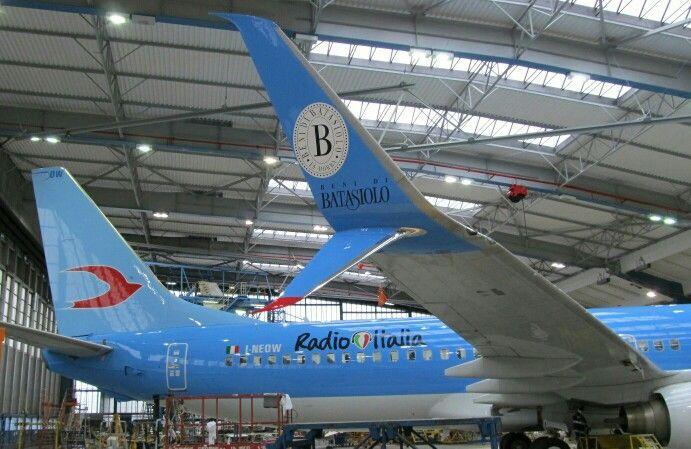 SSW, Split Scimitar Winglets, on NEOS B 737-800, fashion on air...