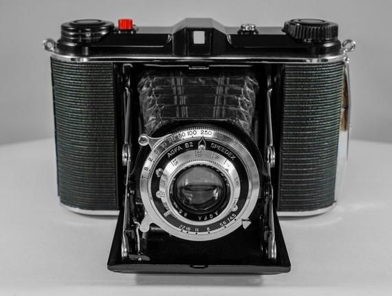 AGFA B2 SPEEDEX Folding Camera with 85mm f4 5 Lens #camera #leica