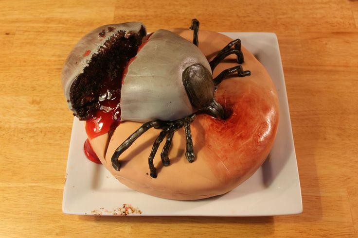Bleeding Deer Tick Cake - Imgur