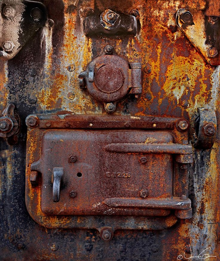 Cerrojo oxidado