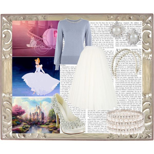 Cinderella Outfit<3 love the whole look, it's so classic!