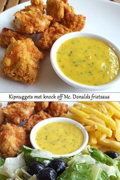 Out Juniors Keuken: kip nuggets met knock off McDonalds frietsaus