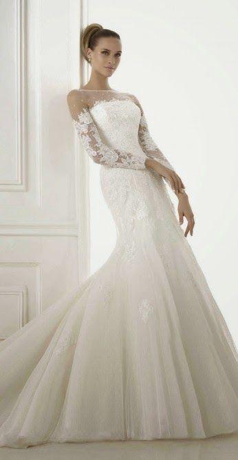Magníficos vestidos de novia | Colección invierno 2015