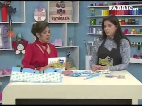 Passo a passo - Porta Maquiagem - Profª Vanessa