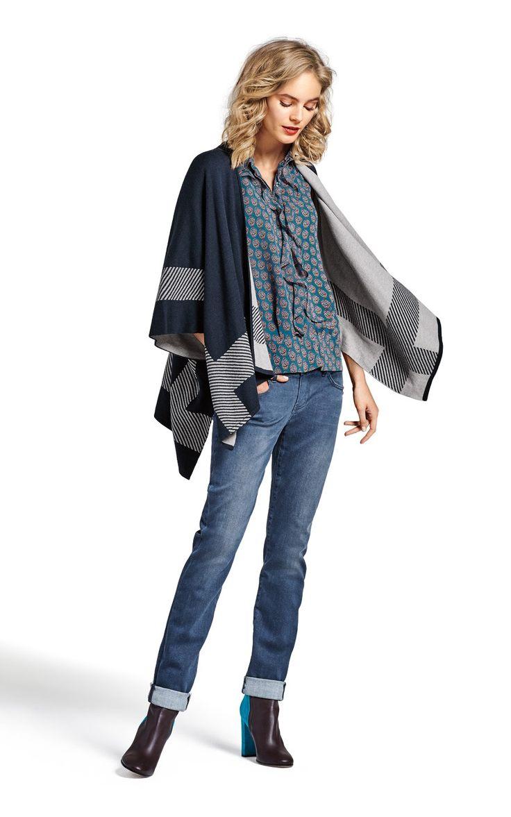 cabi's Reversible Wrap Sweater