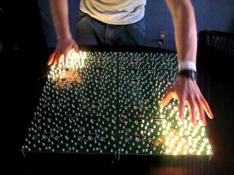 New Interactive Proximity Sensing PCB Table Modules - YouTube