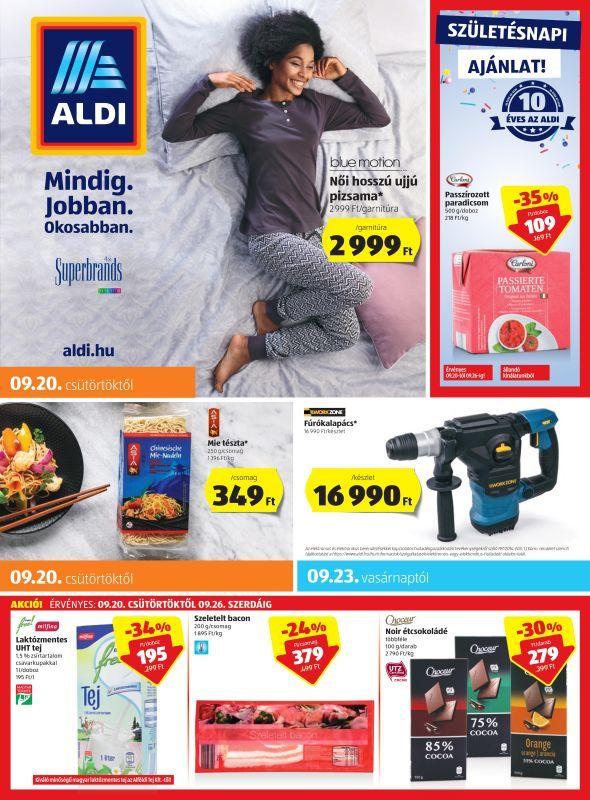 ALDI Akciós Újság 2018. 09.20-09.26-ig  Női pizsama be805a7572