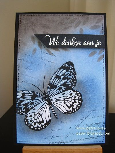 https://petra-loves-paper.blogspot.nl/2017/11/we-denken-aan-je.html #tegekkekrijtjes #craftemotions