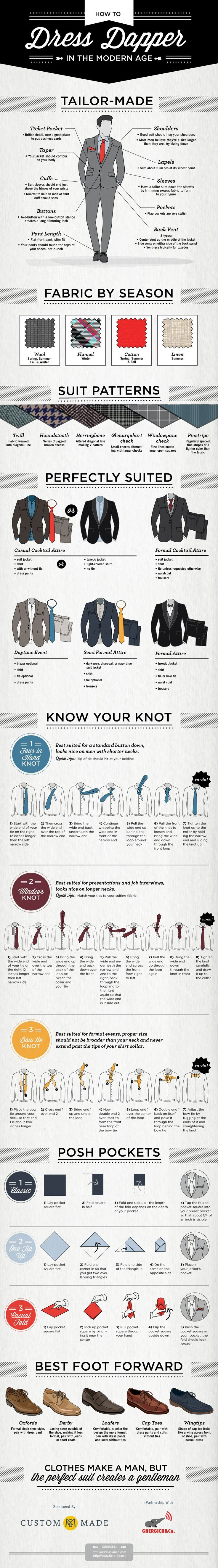How to Look #Dapper in the Modern Age. #MensFashion #Menswear #Suits