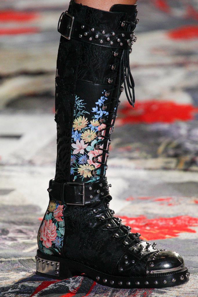 Alexander McQueen boots 2017