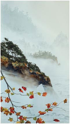 "Jeffrey Hull Gallery - Lithographs - Giclee - Original Paintings- ""Return to Fall""  I am so ready for Fall!"