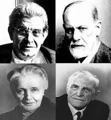 Lacan, Freud, Melanie Klein, Winnicott