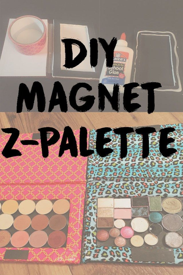 SUPER EASY DIY Z-PALETTE!                                                                                                                                                                                 More