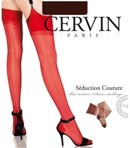 BAS COUture rouge cervin collant.fr