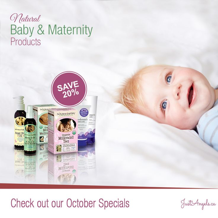Save 20% on natural baby & maternity products #Natural #Baby #Maternity #Canada