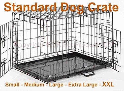 "Large 36"" Dog Crate Puppy Cage Metal Folding Training Cag... https://www.amazon.co.uk/dp/B00XW91DLG/ref=cm_sw_r_pi_dp_x_vUEJybHEVM8MV"